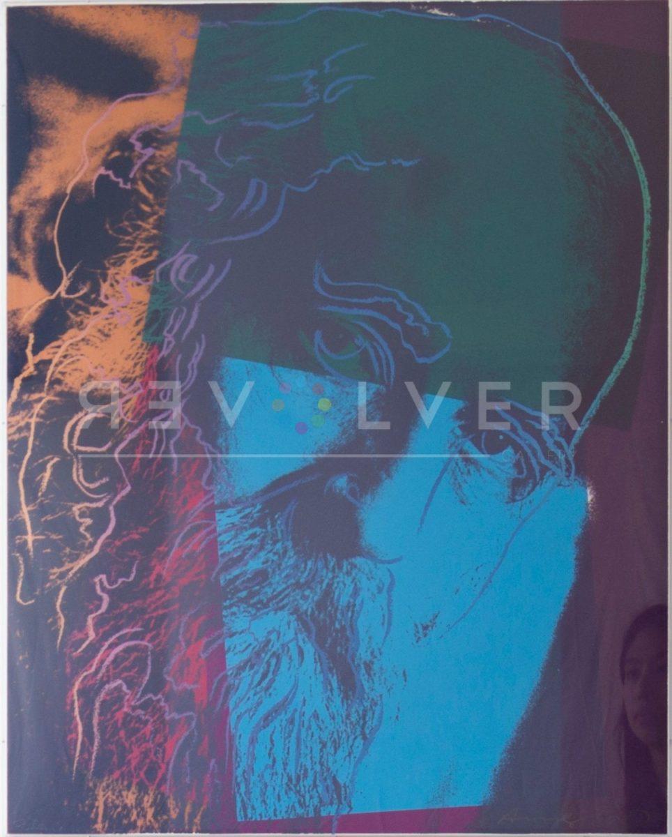 Andy Warhol Martin Buber 288 screenprint.