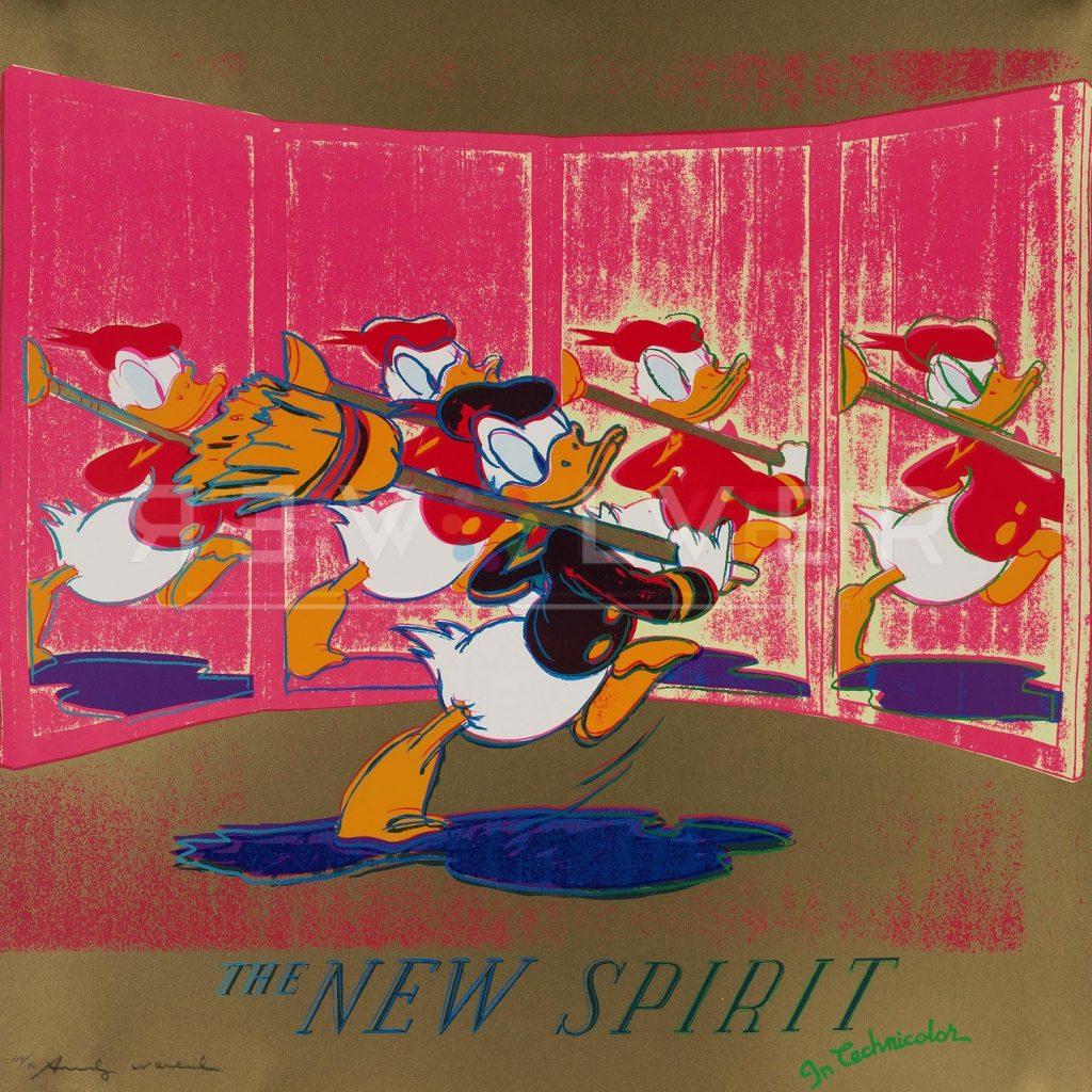 New Spirit Donald Duck