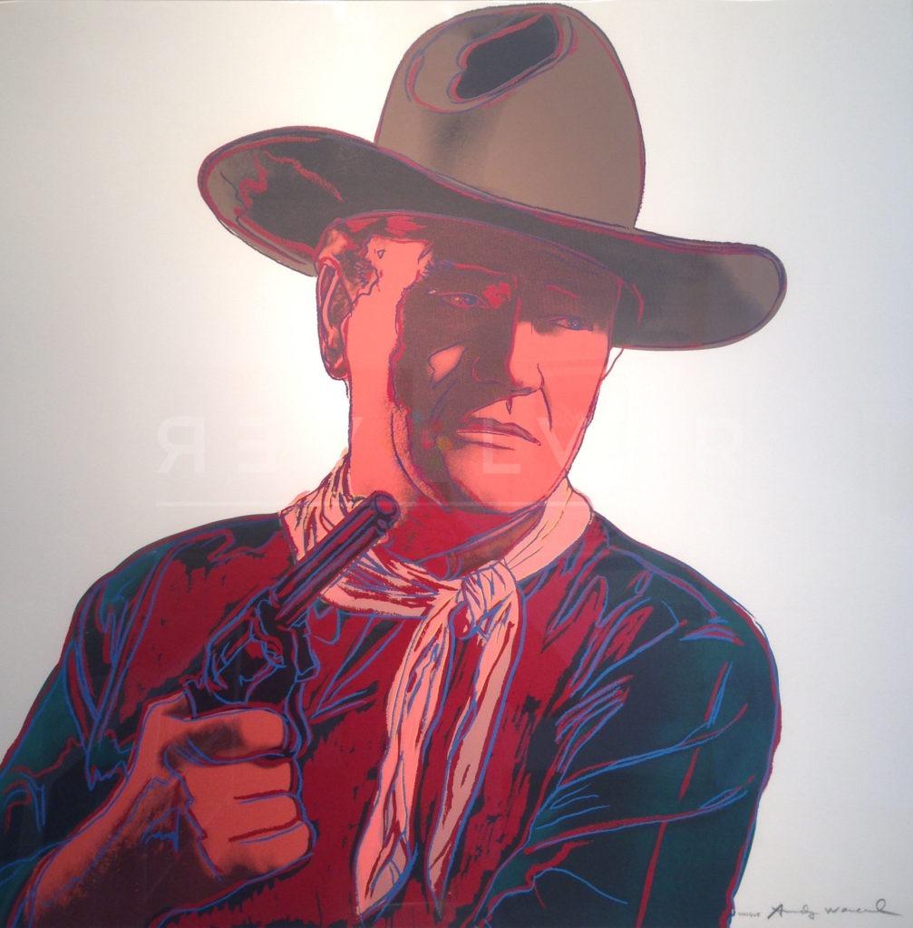 Andy Warhol John Wayne 377