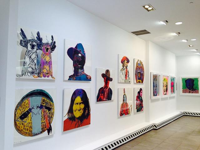 Warhol Revisited Exhibit