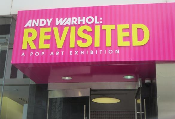 Warhol Revisited Sign