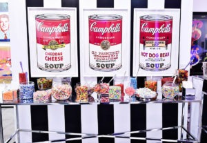 ANDY WARHOL REVISITED SOUP CANS