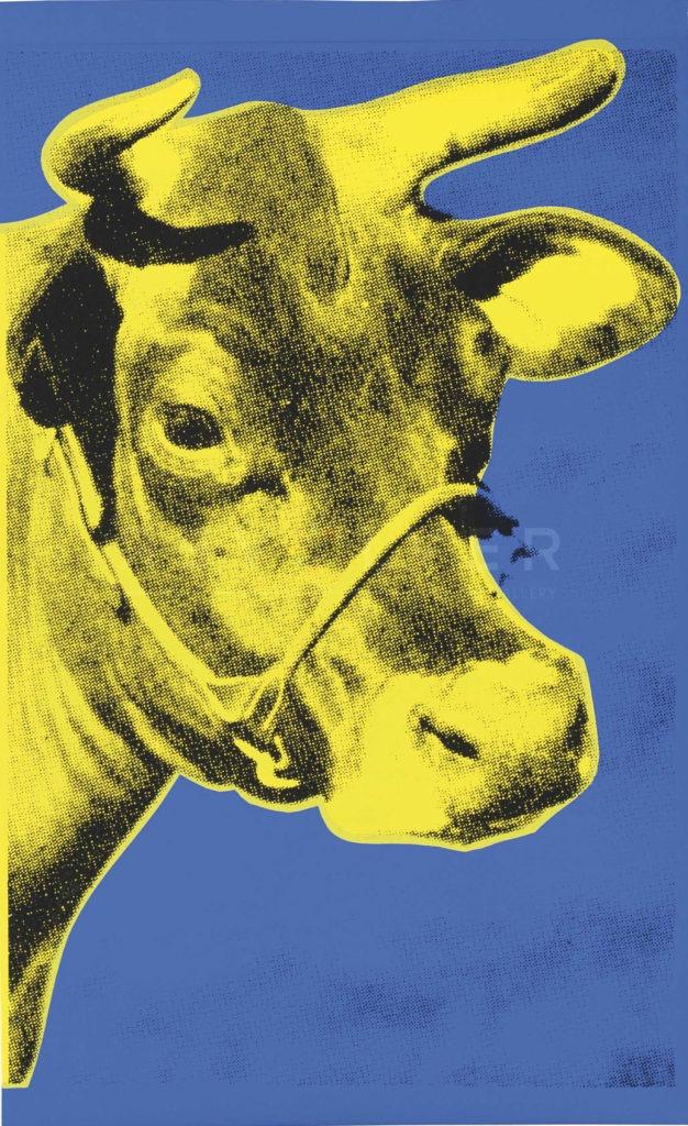Andy Warhol Cow II.12