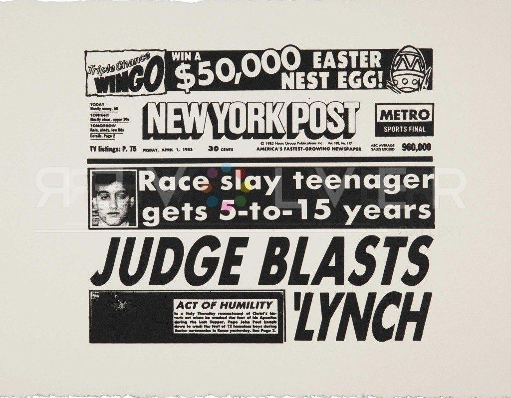 Andy Warhol New York Post