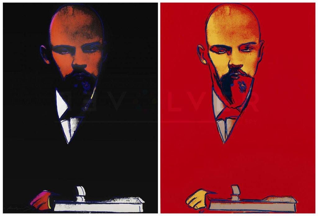 Warhol Lenin 402 403