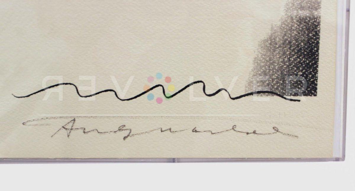 Andy Warhol - Mick Jagger F.S. II 138 sig blur jpg