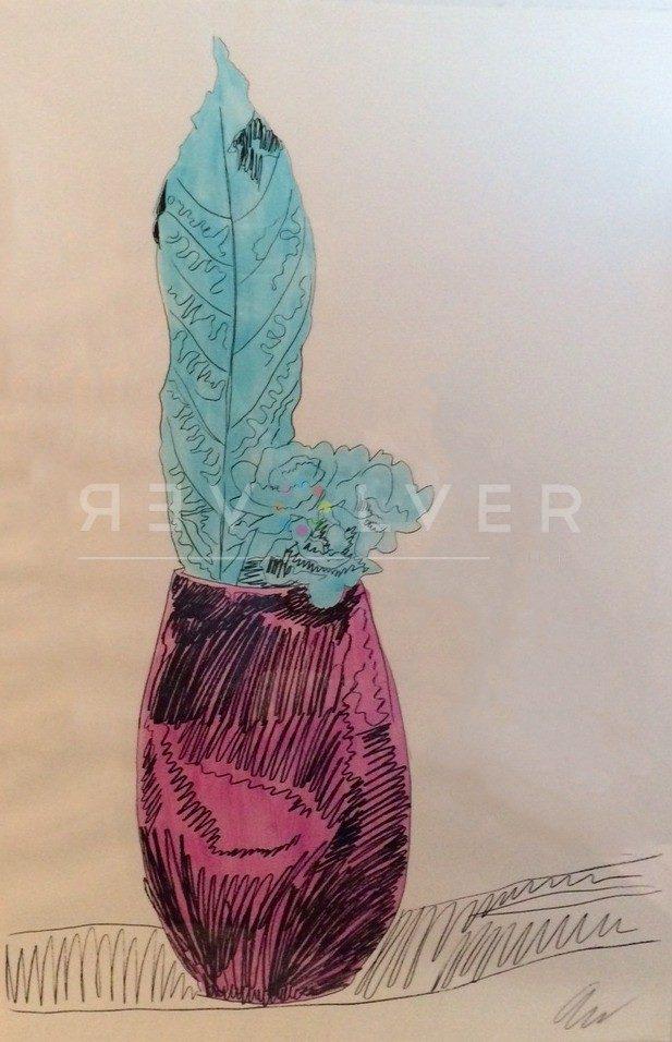 Andy Warhol - Flowers (Hand Colored) F.S. II 115 jpg