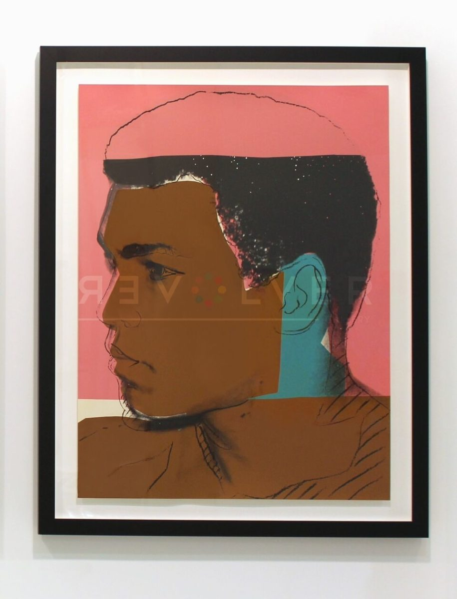 Andy Warhol - Muhammad Ali F.S. II 179 framed jpg