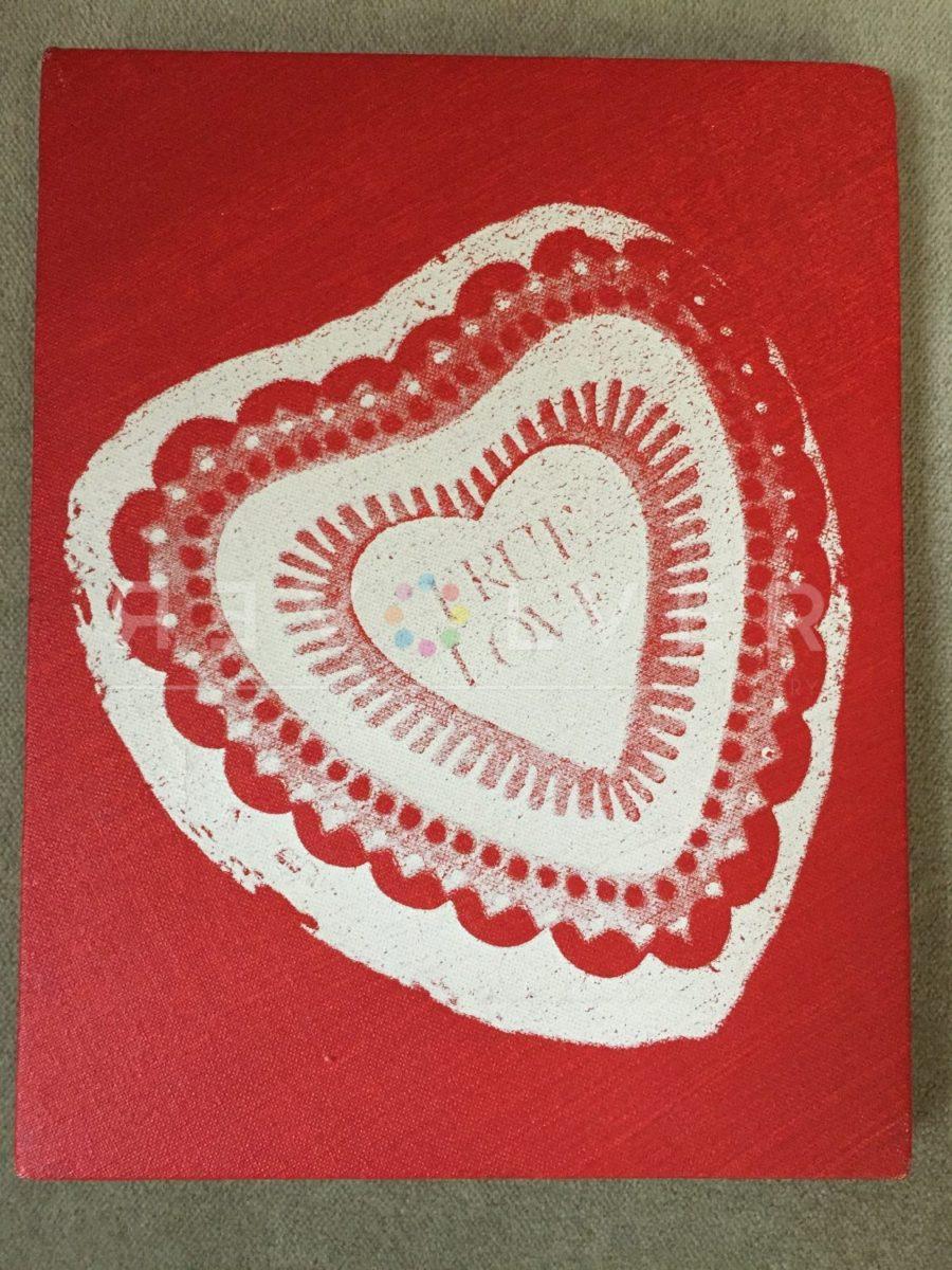 Andy Warhol Candy Box (True Love) screenprint.