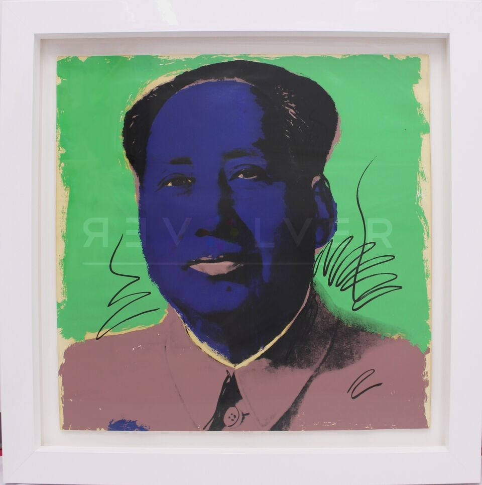 Andy Warhol - Mao F.S. II 90 framed jpg