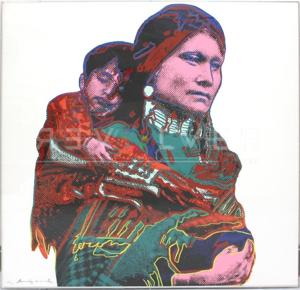 Andy Warhol - Mother and Child F.S. II 383 jpg