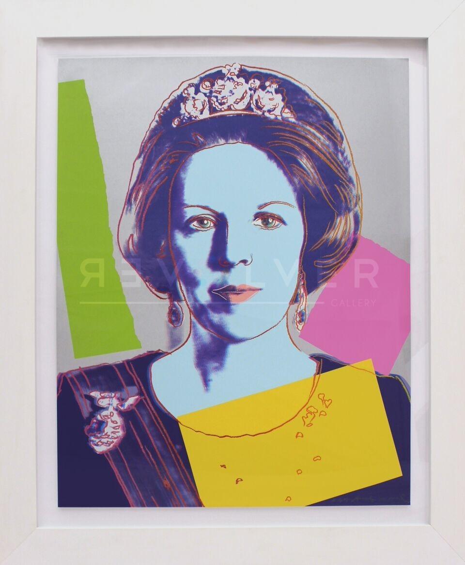 Andy Warhol - Queen Beatrix F.S. II 240 framed jpg