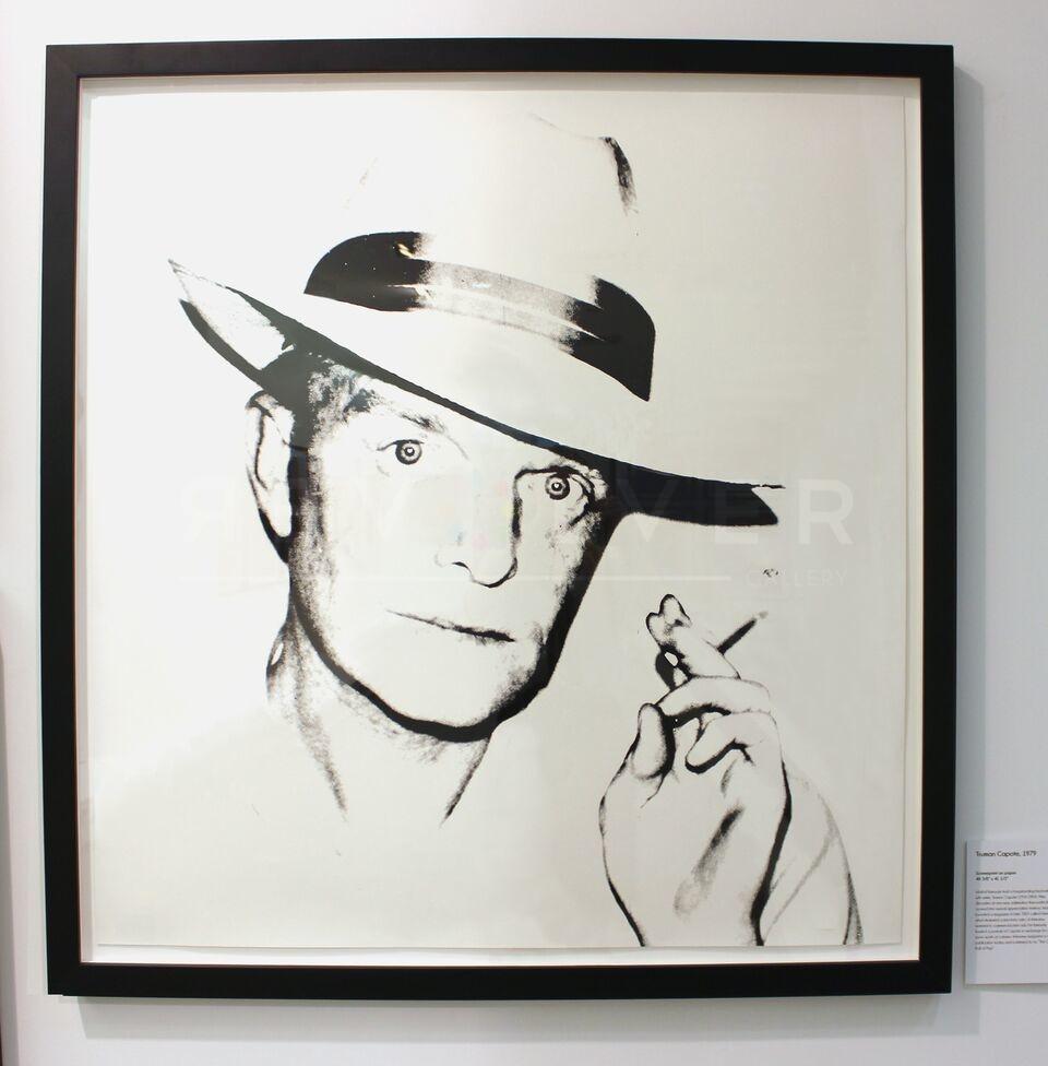Andy Warhol - Truman Capote F.S. II 46 framed jpg