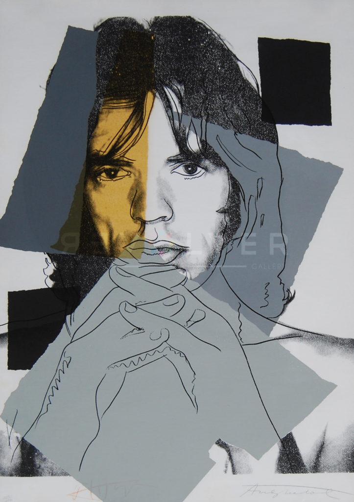 Andy Warhol - Mick Jagger F.S. II 147 jpg