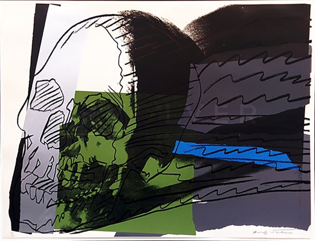 Andy Warhol - Skull F.S. II 160 jpg