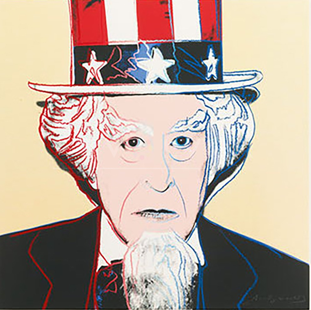Andy Warhol - Uncle Sam F.S. II 259 jpg