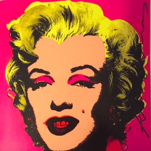 Andy Warhol – Marilyn Invitation (Castelli Graphics) jpg