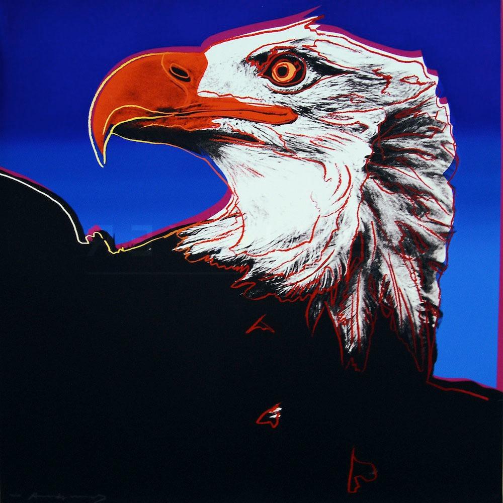 Andy Warhol - Bald Eagle F.S. II 296 jpg