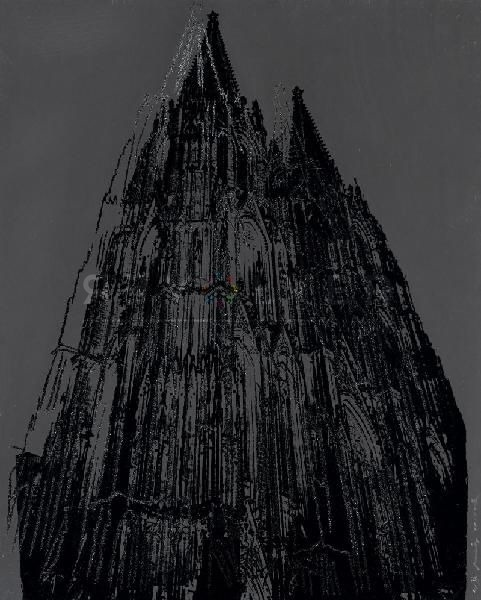 Andy Warhol - Cologne Cathedral F.S. II 361 jpg