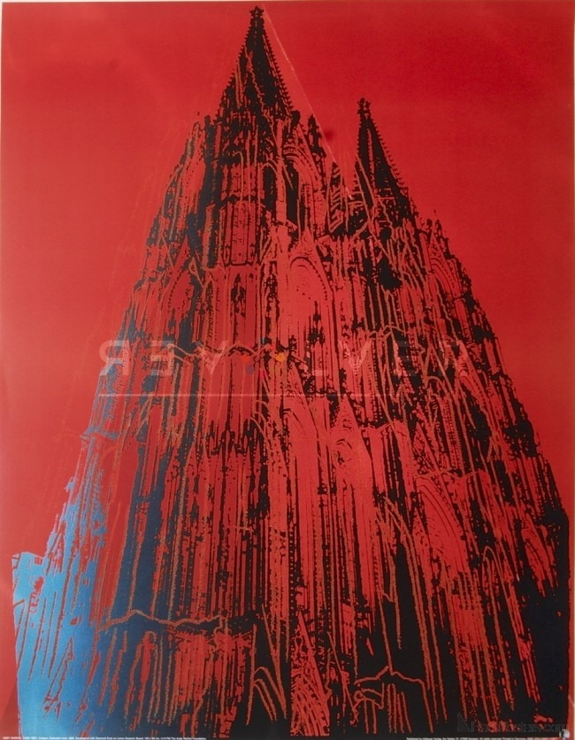 Andy Warhol - Cologne Cathedral F.S. II 364 jpg