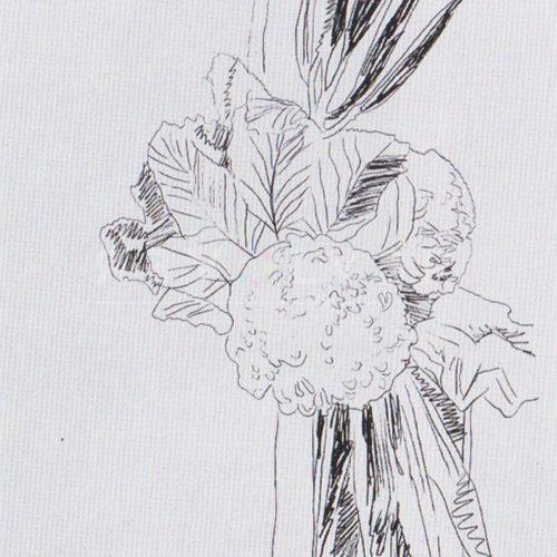 Andy Warhol – Flowers (Black and White) F.S. II 100 jpg