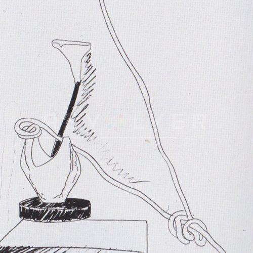 Andy Warhol – Flowers (Black and White) F.S. II 101 jpg