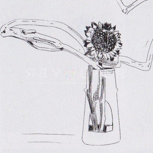 Andy Warhol – Flowers (Black and White) F.S. II 102 jpg