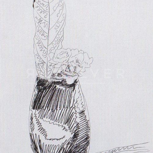Andy Warhol – Flowers (Black and White) F.S. II 105 jpg