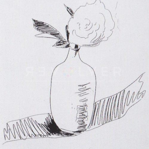 Andy Warhol – Flowers (Black and White) F.S. II 108 jpg