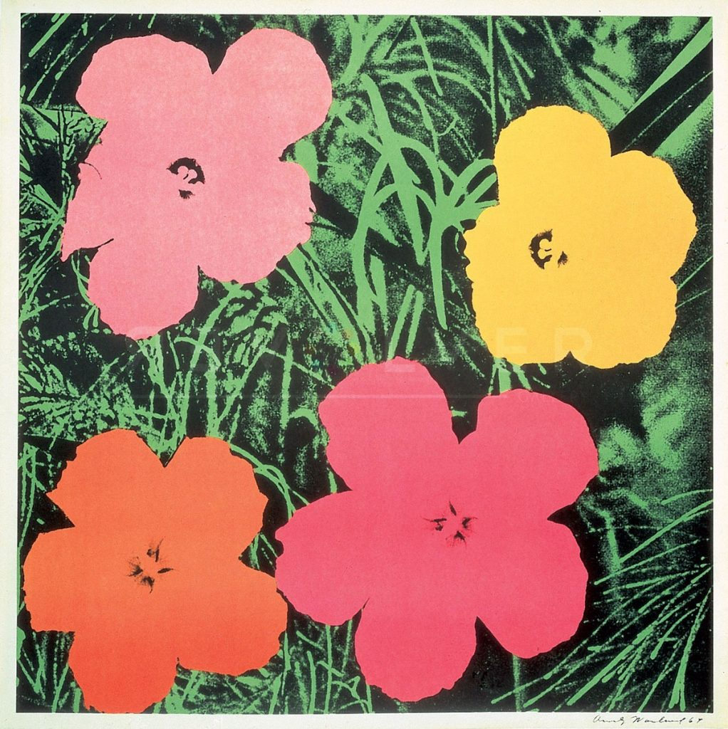 Andy Warhol - Flowers F.S. II 6 jpg