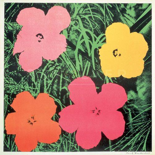 Andy Warhol – Flowers F.S. II 6 jpg