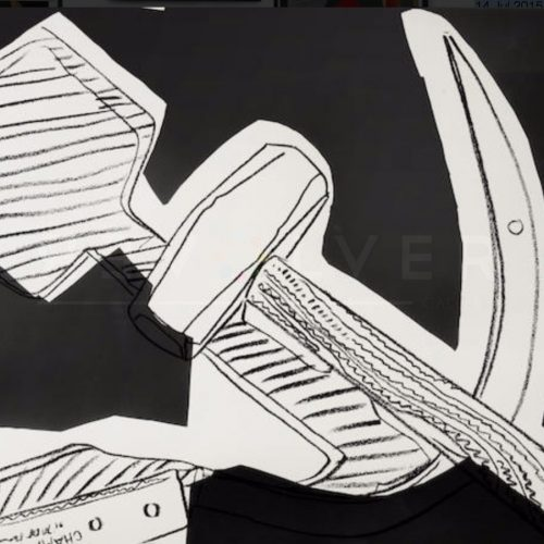 Andy Warhol - Hammer and Sickle Special Edition F.S. II 170 jpg