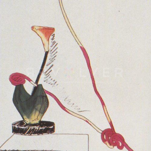 Andy Warhol - Flowers (Black and White) F.S. II 111 jpg