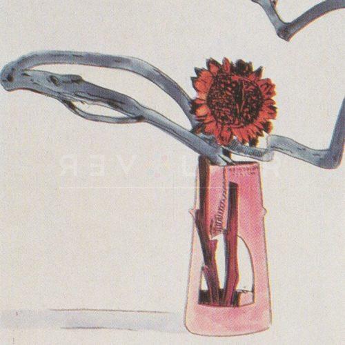 Andy Warhol – Flowers (Black and White) F.S. II 112 jpg