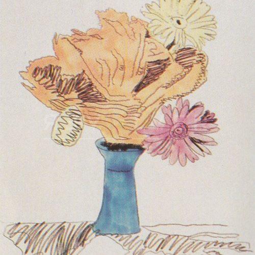 Andy Warhol – Flowers (Black and White) F.S. II 113 jpg