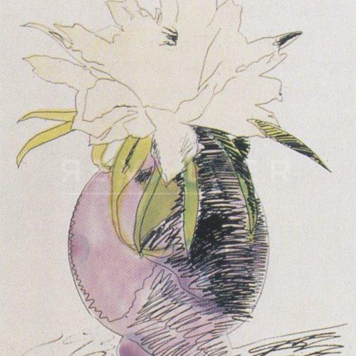 Andy Warhol – Flowers (Black and White) F.S. II 114 jpg