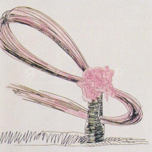 Andy Warhol – Flowers (Black and White) F.S. II 117 jpg