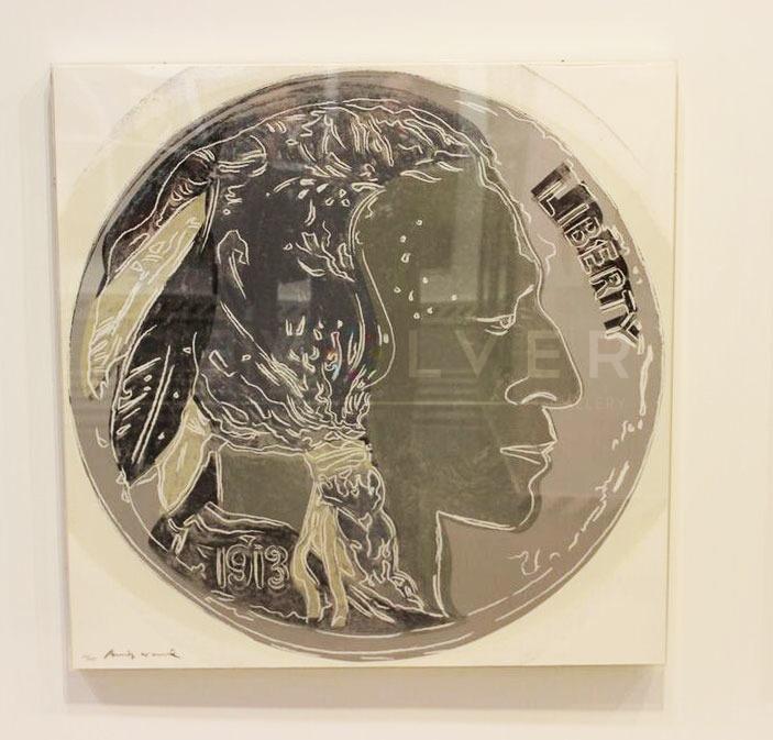 Andy Warhol - Indian Head Nickel F.S. II 385 jpg