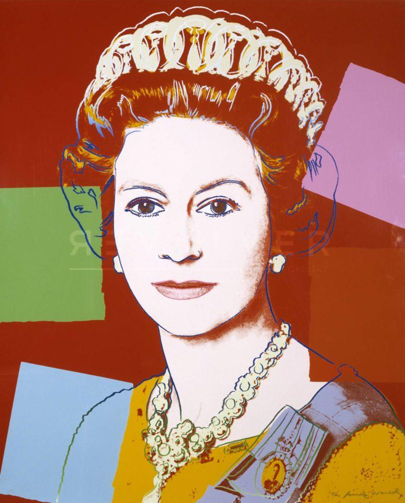 Andy Warhol - Queen Elizabeth II F.S. II 334 jpg