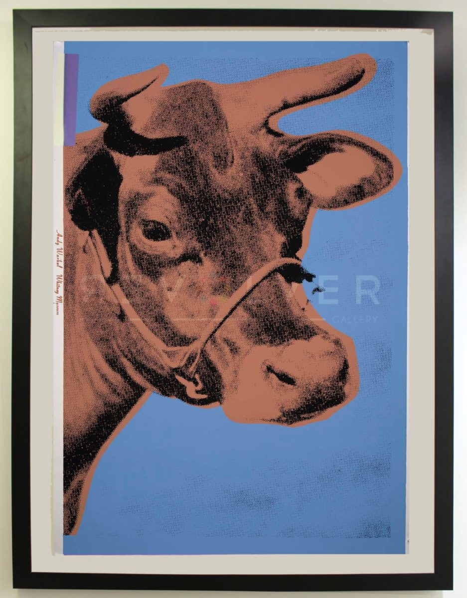 Andy Warhol - Cow F.S. II 11A framed jpg