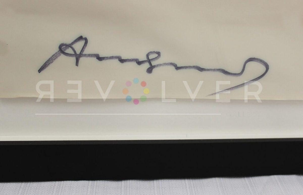 Andy Warhol - Mao Wallpaper F.S. II 125A Signature blur jpg