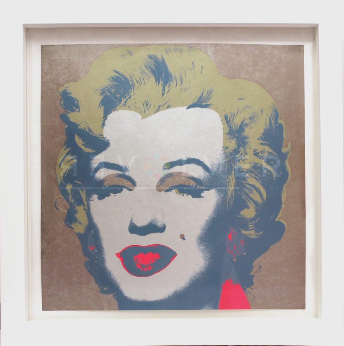 Andy Warhol - Marilyn Monroe F.S. II 26 framed jpg