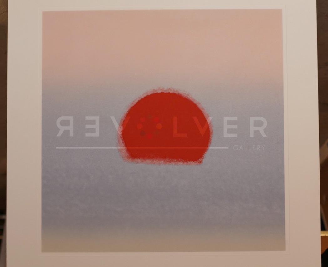 Andy Warhol - Sunset F.S. II 88 (Gray/Red) jpg