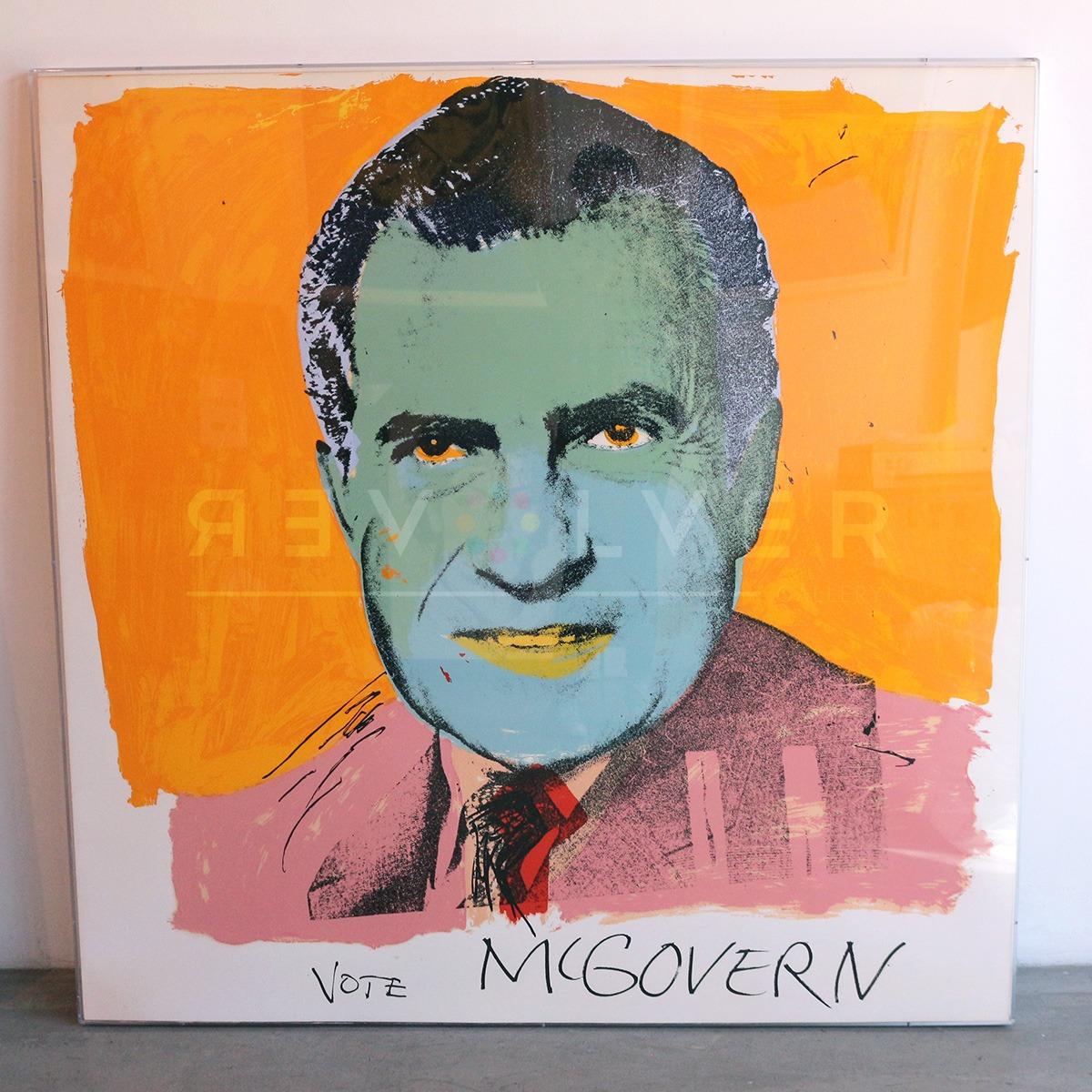 Andy Warhol - Vote McGovern F.S. II 84 jpg