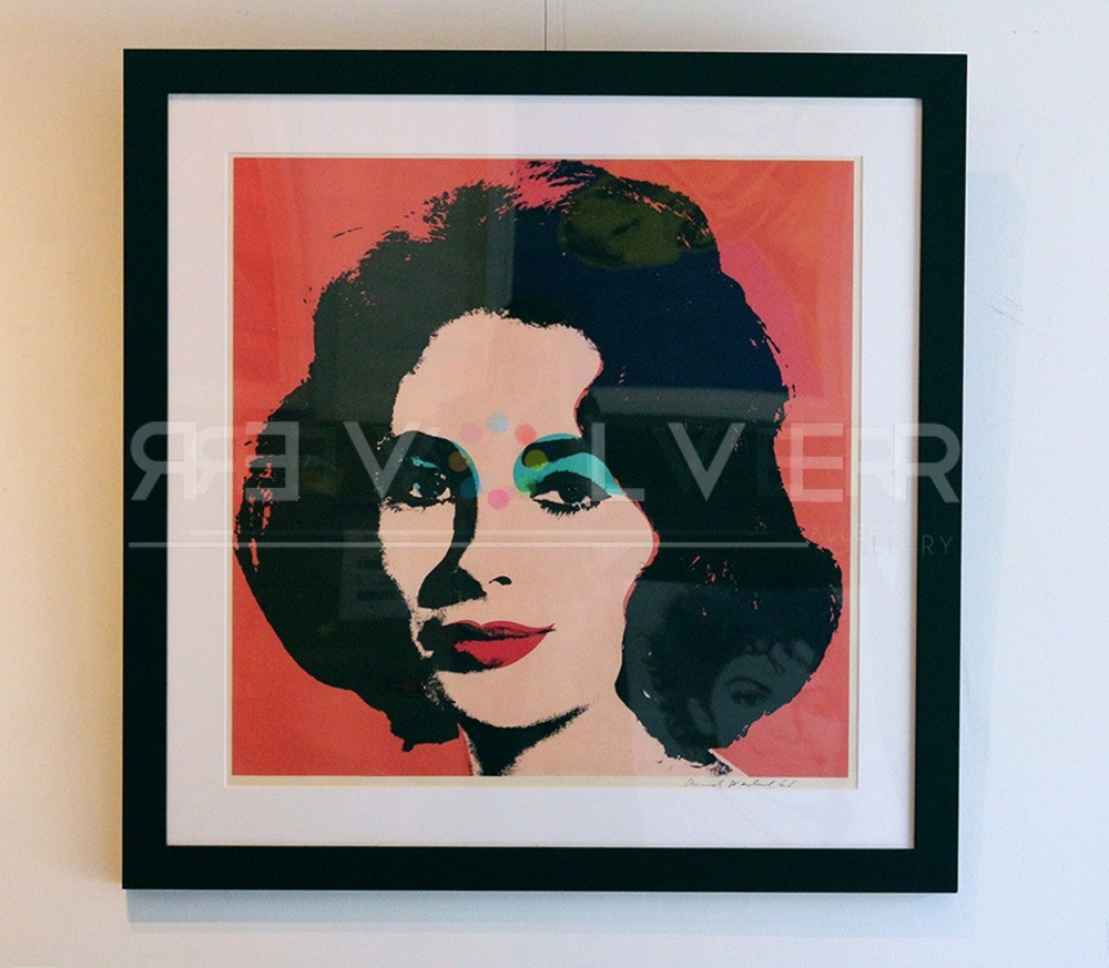 Andy Warhol - Liz Taylor F.S. II 7 framed jpg