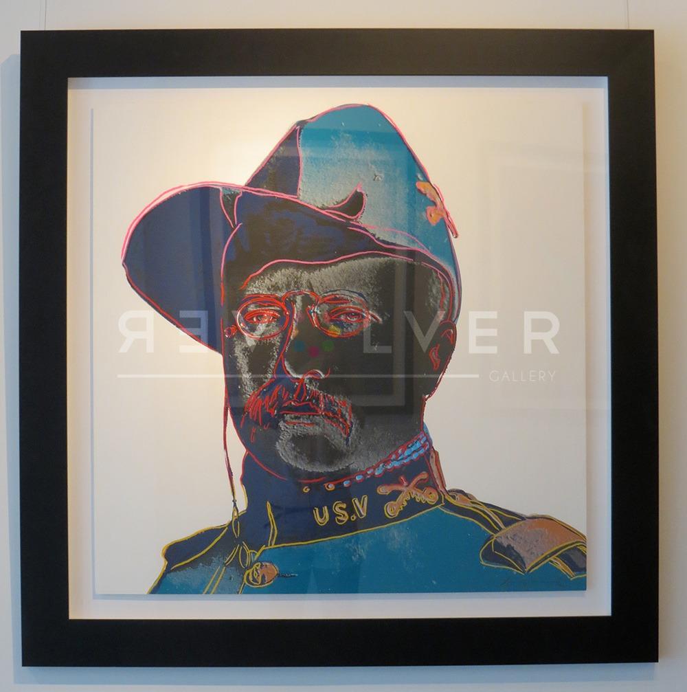 Andy Warhol - Teddy Roosevelt F.S. II 386 framed jpg