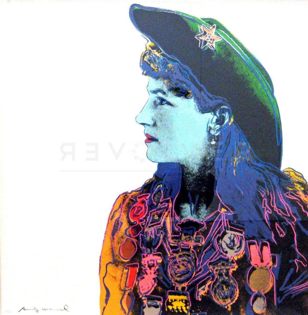 Andy Warhol Annie oakley 378