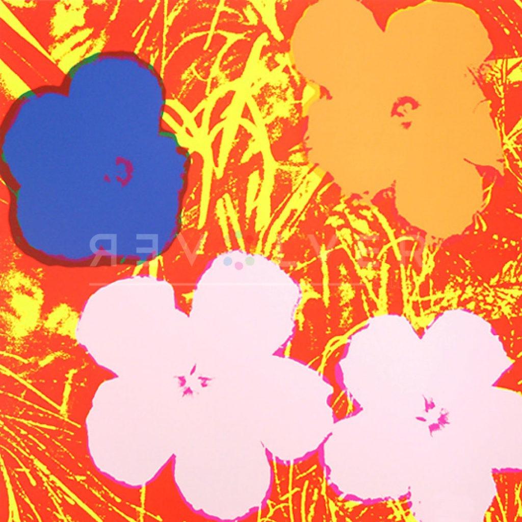 Andy Warhol - Flowers F.S. II 69 jpg