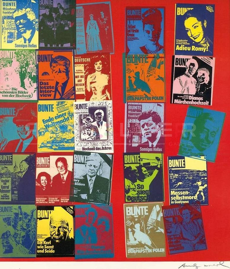 Andy Warhol Magazine and history 304A