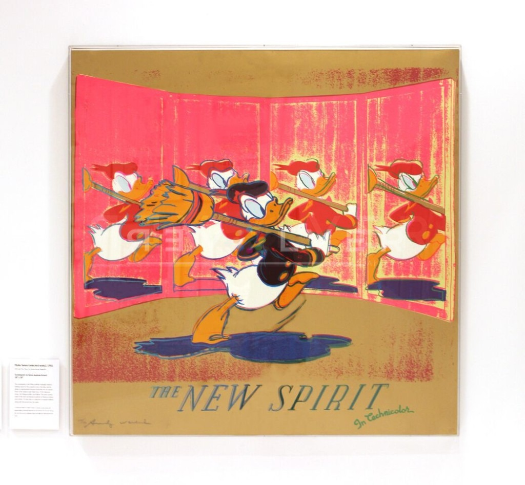 Andy Warhol - The New spirit F.S. II 357 Framed jpg